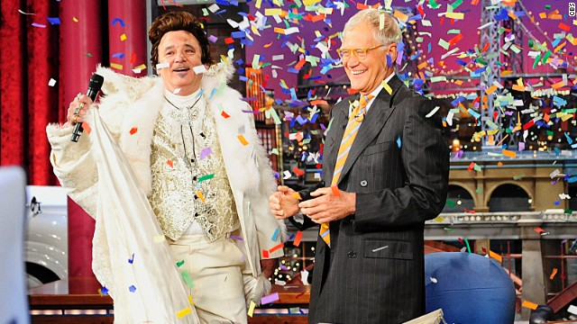 Bill Murray makes 20th anniversary return to 'Letterman'