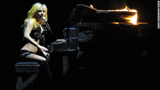Lady Gaga also got a very early start, learning to <a href='http://www.biography.com/people/lady-gaga-481598' target='_blank'>play the piano by the age of 4 </a>and writing her first piano ballad when she was 13.