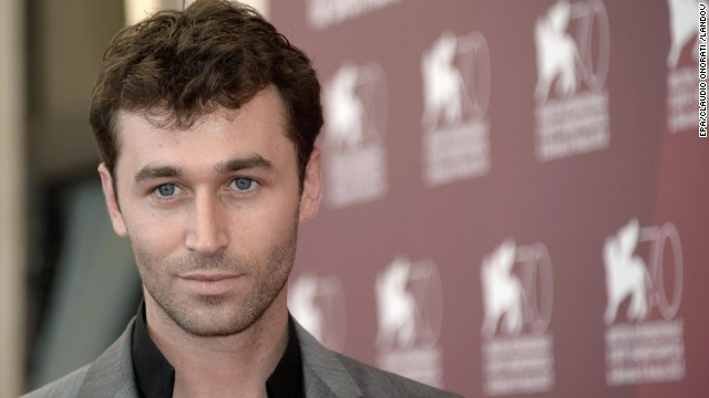 "Actor James Deen is at the festival for the movie ""The Canyons"" on August 30. The film is presented ""out of competition"" at the festival."