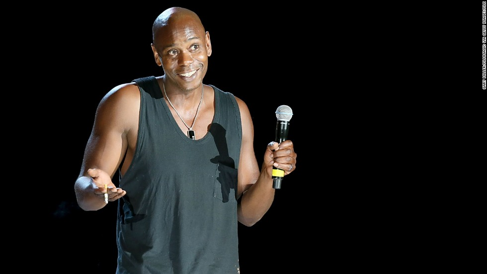 "Given how <a href='http://marquee.blogs.cnn.com/2013/08/30/dave-chappelle-walks-off-stage-during-hartford-show/'>rowdy the crowd </a>was at Dave Chappelle's August show in Hartford, Connecticut, his abrupt exit speech was remarkably polite. ""I like some of you, I hate some of you. I forgive some of you, but I don't forgive all of you."" And then, amid escalating boos, the comedian dropped the mic and cued Kanye West's ""New Slaves."" Chappelle is seen here at a performance earlier this year. These stars understand where Dave's coming from:"