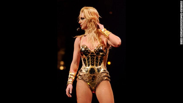 "While in Vancouver in 2009, Britney Spears strongly wished her audience had said no to drugs. The pop star was so aggravated by the smell of cigarette and other kinds of smoke that she cut the concert short 15 minutes in. Spears did eventually come back to the stage, but she didn't sound too happy about it -- she ended the concert by saying, ""<a href='http://www.people.com/people/article/0,,20271319,00.html' target='_blank'>Vancouver, don't smoke weed</a>."" She is seen at an earlier show on the tour."