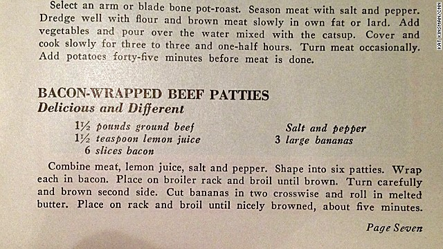 Bacon-Wrapped Beef Patties: Meat in the Meal for Health Defense (1942)
