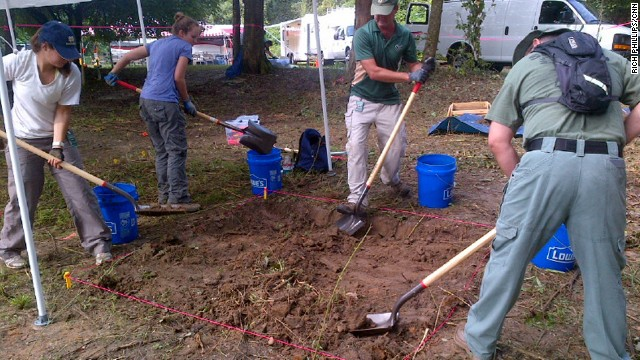 Anthropologists begin digging to unearth what they believe are the remains of dozens of children buried on the grounds of a former reform school in Marianna, Florida.