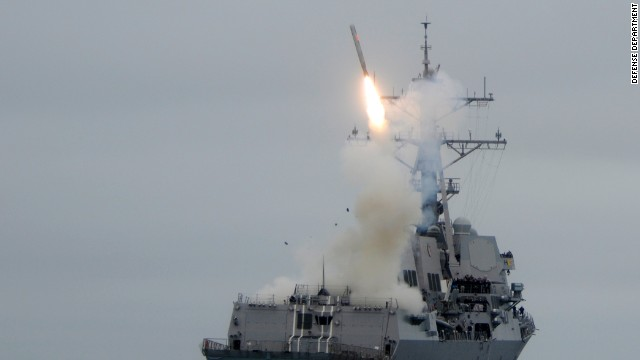 How a military strike on Syria might unfold