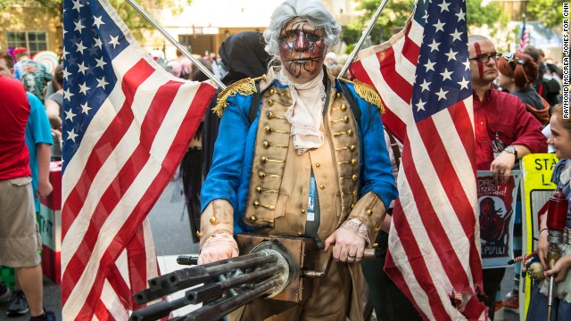 Bioshock Infinite Cosplay Patriot DNA doesn t change by choice