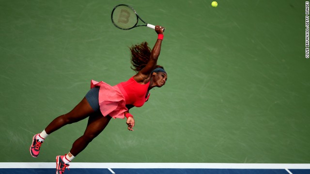 "Despite having her most successful year, Mouratoglou thinks Serena can improve yet further. ""If she plays her type of game with more efficiency, like being maybe even more aggressive, adding some volleys, she can give another level, which is maybe a bit frightening, but I think she can."""