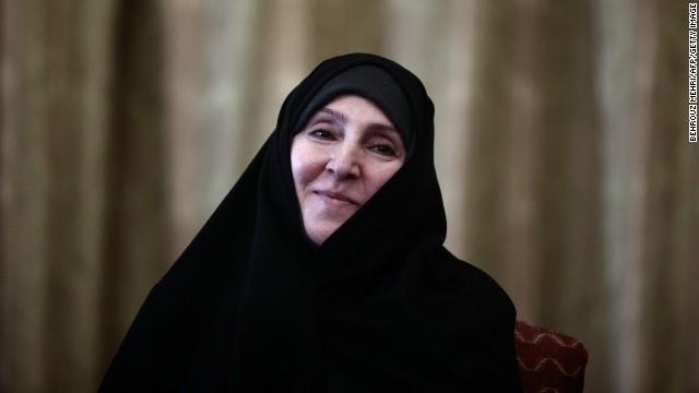 Una mujer toma la vocería del Ministerio de Exteriores de Irán