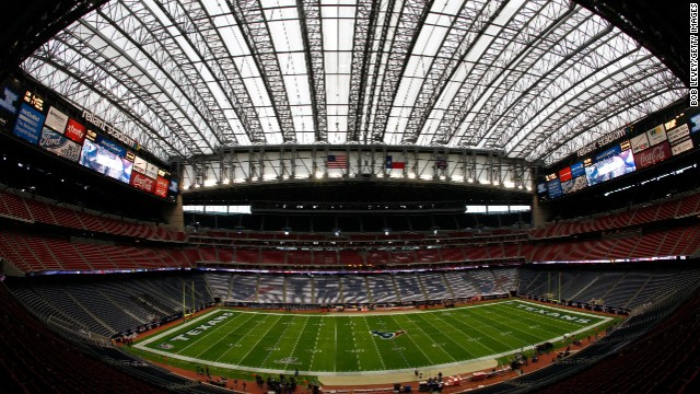 Reliant Stadium in Houston, Texas, will host Super Bowl LI in 2017. It does not currently offer Wi-Fi but has been negotiating with Verizon to bring Wi-Fi throughout the stadium.