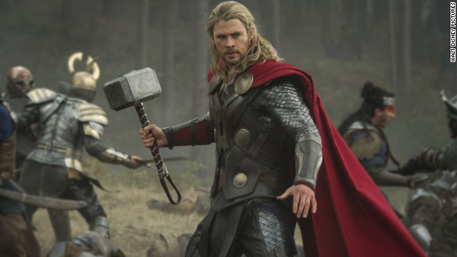 "<strong>""Thor: The Dark World"":</strong> The latest from the Marvel factory stars Chris Hemsworth, once again, as the Nordic god with the powerful hammer. This time he has to save the universe from a dastardly villain. Natalie Portman co-stars. (November 8)<!-- --> </br>"