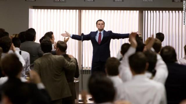 Leonardo DiCaprio stars as Jordan Belfort in