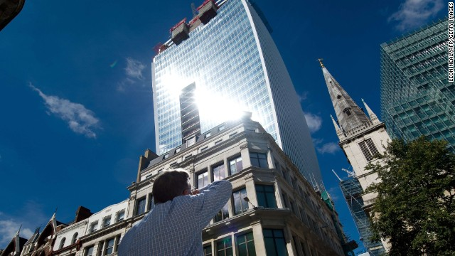 Photos: London\'s \'Walkie Talkie\' building