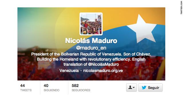 Nicolás Maduro se vuelve políglota en Twitter