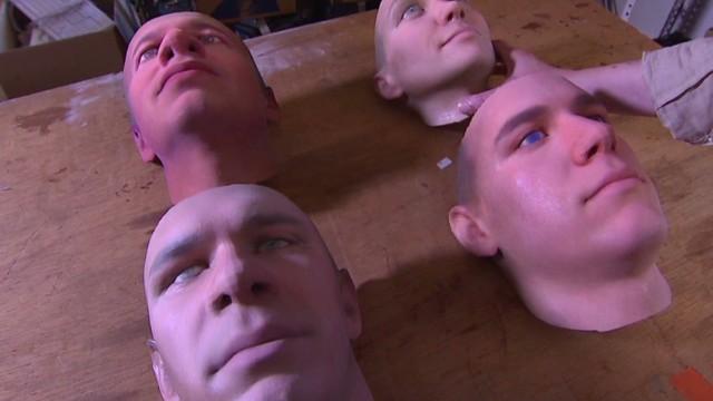 Una artista crea rostros en 3D a partir del ADN dejado en lugares públicos