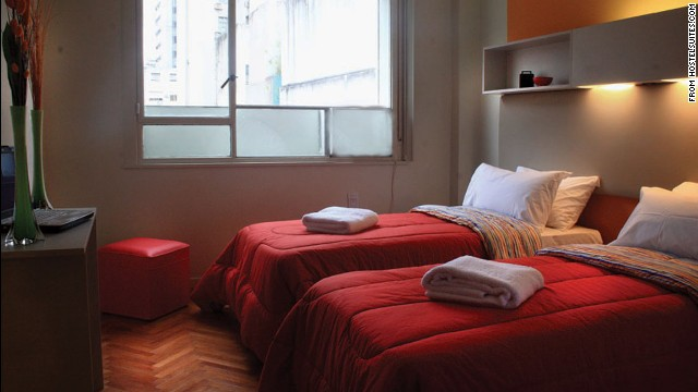 This hostel is in the heart of Buenos Aires, offering a wallop of Argentine culture.
