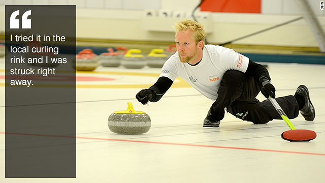 Sweden\'s curling champion