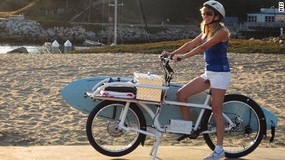 New electric bike can haul 100 pounds of cargo