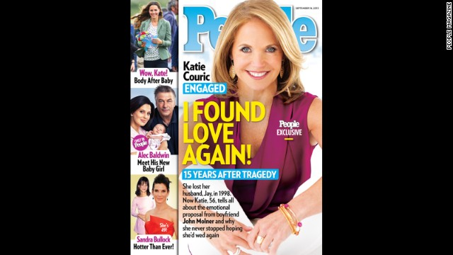 Katie Couric: I made getting married a priority