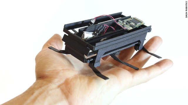 The $65 DIY robot that moves like a bug