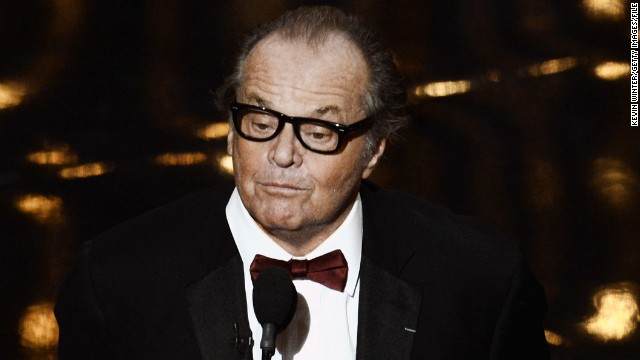 Jack Nicholson may or may not be retired