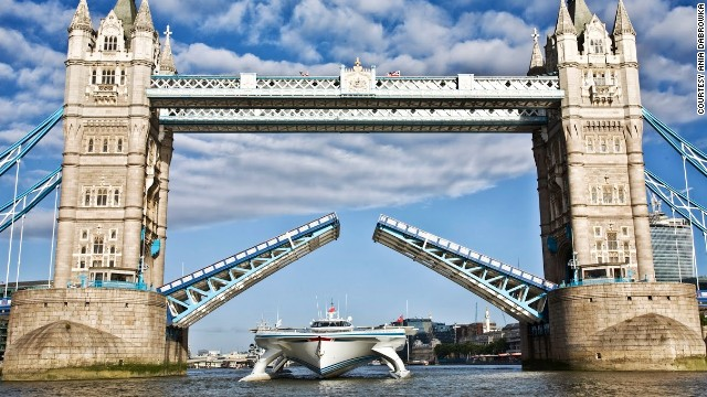 World\'s largest solar-powered boat arrives in London