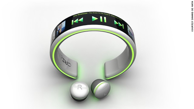 Brazilian designer Dinard de Mata proposes the 'Creative Player' - a smartwatch and MP3 player concept that charges with your own pulse. OK so it's not <i>quite</i> in the shops yet but it's a cool idea, alright?