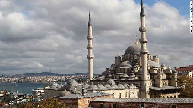 The Turkish city of Istanbul offers an unusual blend of cultures as the city sits in both Europe and Asia.