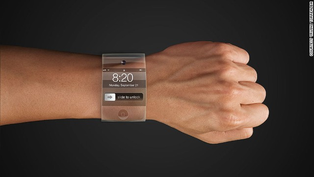 This discreet smartwatch is transparent, touchscreen and has no visible mechanics. It is the iWatch vision of San Francisco digital creative Yrving Torrealba.