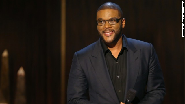 Tyler Perry onstage at Spike TV's