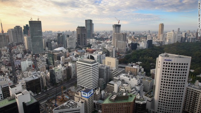 The skyscraper city of Tokyo in Japan held the Olympic Games in 1964 and wants to join the last destination, London, as a multiple host city.