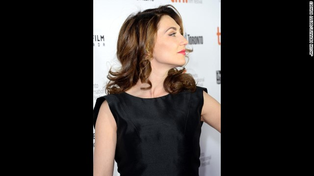 """Actress Carice van Houten attends """"The Fifth Estate"""" premiere on September 5."""