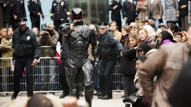 'RoboCop' remake gets a trailer