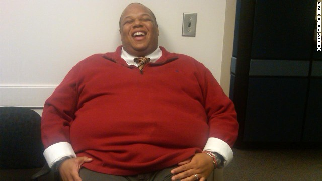 Man loses 245 pounds with the three P's