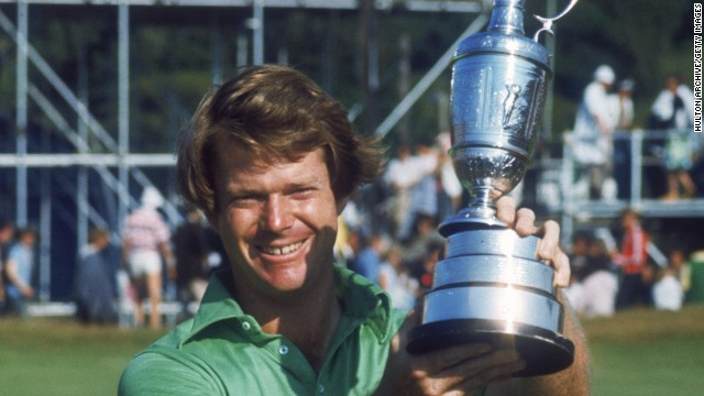 "Watson's finest moment as a player is regarded as his victory in the ""Duel in the Sun"" when he held off Jack Nicklaus at the 1977 British Open at Turnberry."