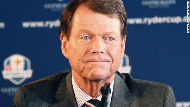 Tom Watson was officially unveiled as the U.S. Ryder Cup captain for 2014 at a ceremony in New York. It will be his second spell in charge, having led the successful 1993 U.S. team.