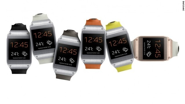 The Samsung Galaxy Gear is the first venture into smart, wearable tech. Retailing at $299, users will be able to make phone calls and take pictures with the smartwatch.