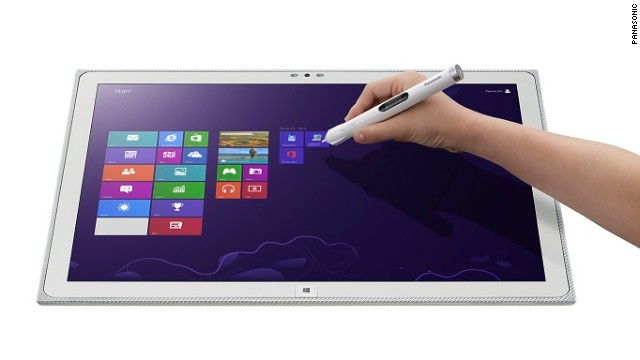 Powered by WIndows 8, the 20-inch Panasonic 4k weighs 2.4 kilos and will be available in Europe from November.