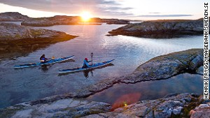Sweden\'s right-to-roam law means you can pitch a tent largely where you like among the islands of Bohuslän.