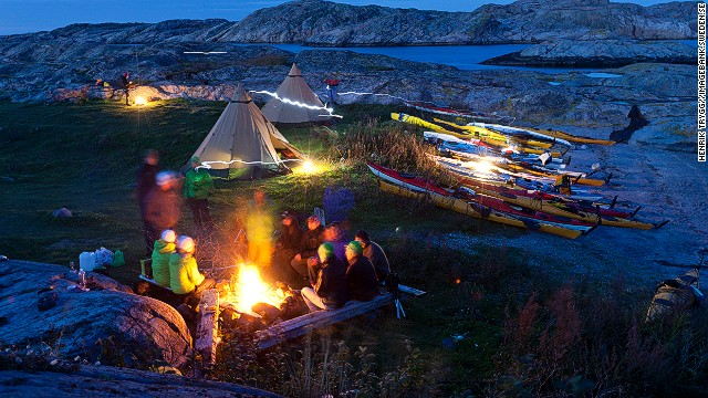 Sweden's anarchic freedom-to-roam law means you can generally camp where you like around Bohuslän. Some islands have guesthouses, if you prefer not to emit those tortured groans in the morning, hand on lower back.
