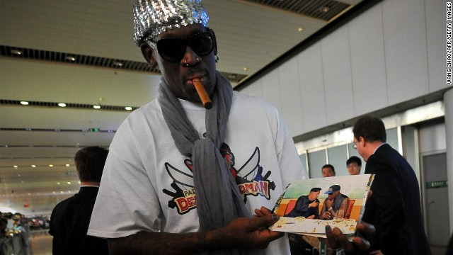 "Rodman revela el nombre de la hija de Kim Jong Un y dice que es un ""buen padre"""