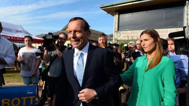 Tony Abbott gana las elecciones de Australia