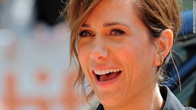 """Kristen Wiig, a cast member in """"Hateship Loveship,"""" arrives at the premiere of the film at The Princess of Wales Theatre on September 6."""