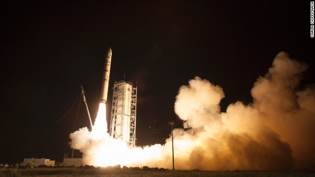 Photos: NASA launches moon orbiter