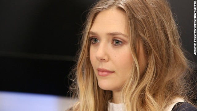 Actress Elizabeth Olsen appears at the Variety Studio at Holt Renfrew on September 7.