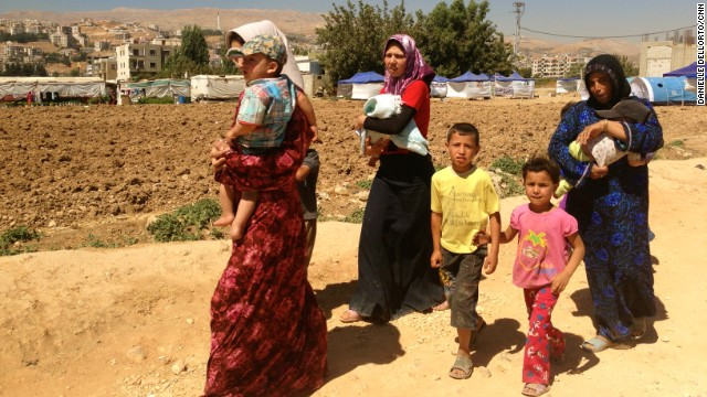 Families seeking refuge in Lebanon are faced with the challenge of not being wanted. The government does not sanction any official refugee camps or assist with fixed water facilities or sanitation systems in camps. Refugees tell CNN they want to go home, back to Syria, but are afraid for the safety of their families.