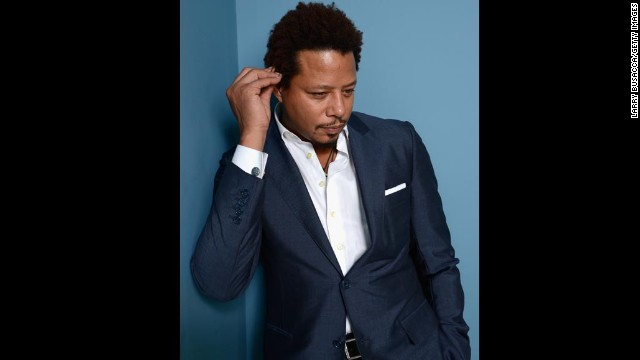 """Actor Terrence Howard of """"Prisoners"""" poses at the Guess Portrait Studio on September 7."""