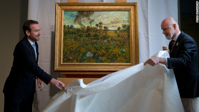 The discovery is the first full size canvas that has been found since 1928 and will be on display from September 24.