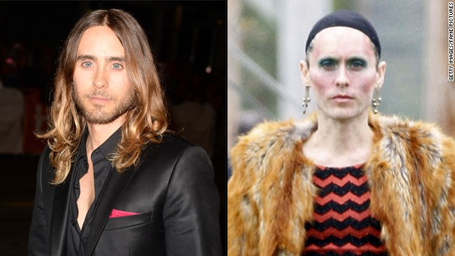 "Jared Leto said he shed nearly 40 pounds to play a transsexual woman living with AIDS in the 1980s for ""Dallas Buyers Club."""