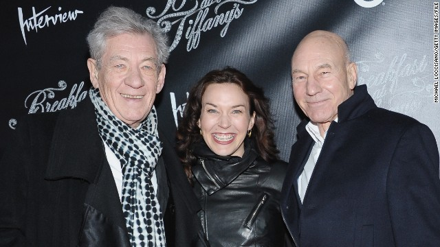 Patrick Stewart marries with Ian McKellen's help