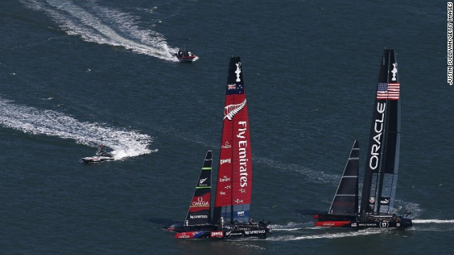 'Flying machines' elevate America's Cup to new levels