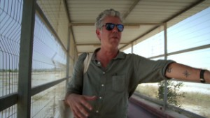 Anthony Bourdain: 'Jesus walked there'